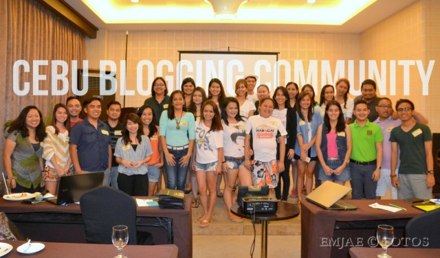 Cebu Blogging Community at Diamond Suites