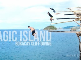 Magic Island Cliff Diving Boracay Island