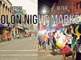 Colon Night Market Cebu Transformation