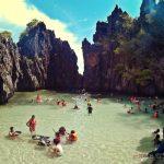Secret Beach View El Nido Palawan Island Hopping