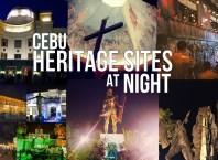 Cebu Heritage Sites At Night
