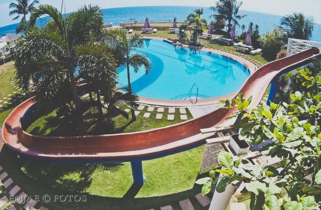 `Pool Slide Danao Coco Palms Resort