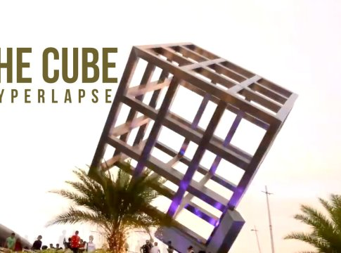 Featured The Cube Hyperlapse SM Seaside City