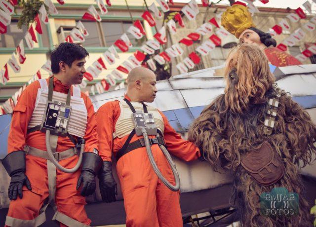 Chewbacca Sinulog Star Wars Cebu Lightsaber