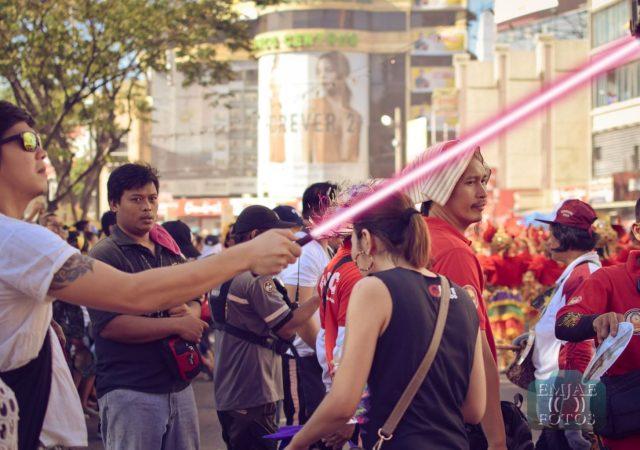 Head Sinulog Star Wars Cebu Lightsaber