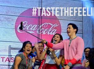 Coca-cola Taste The Feeling Cebu Feature