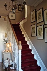 Wilton dark red carpet