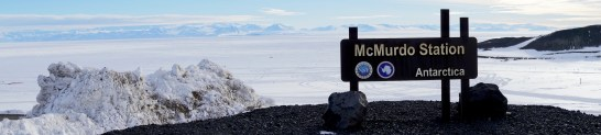 Scenic viewpoint at McMurdo