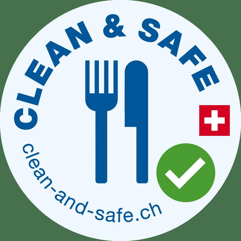 Safe & Clean Logo