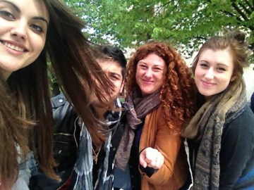 Marina, Bruno,Emma et Caroline