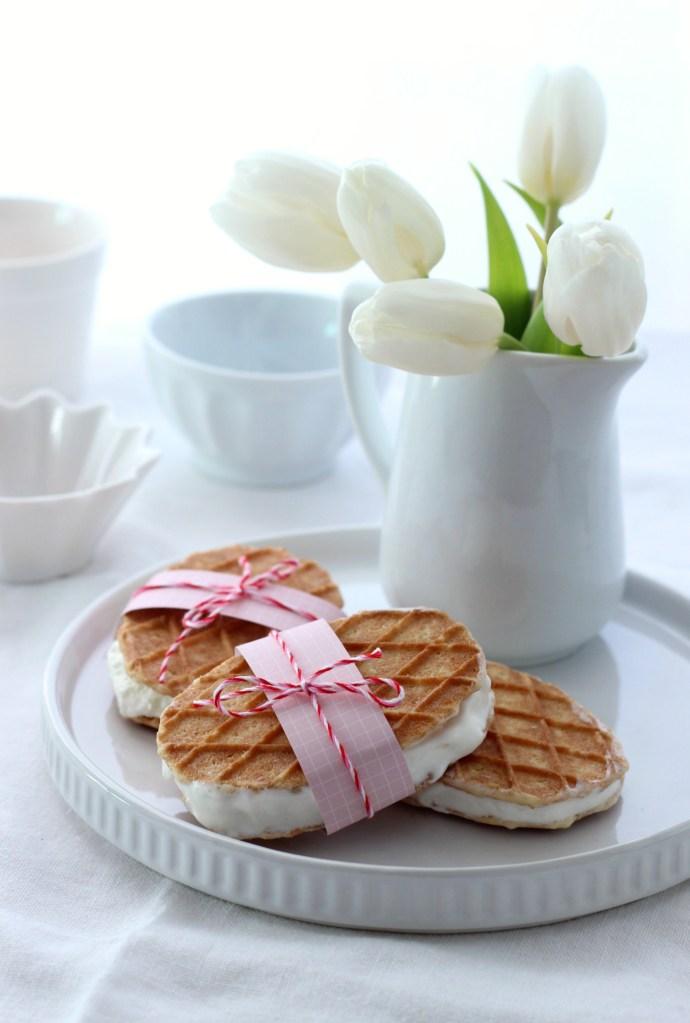 Süße Idee für den Osterbrunch: American Cheesecake Eis selber machen ohne Eismaschine
