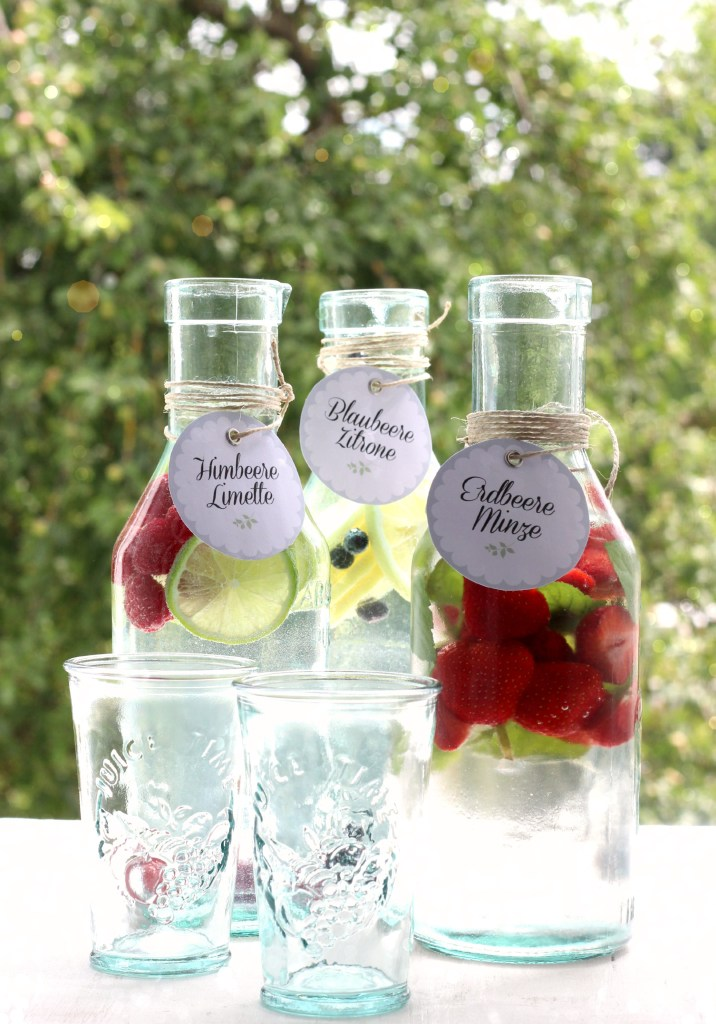 EmmaBee Rezept Vitamin-Wasser