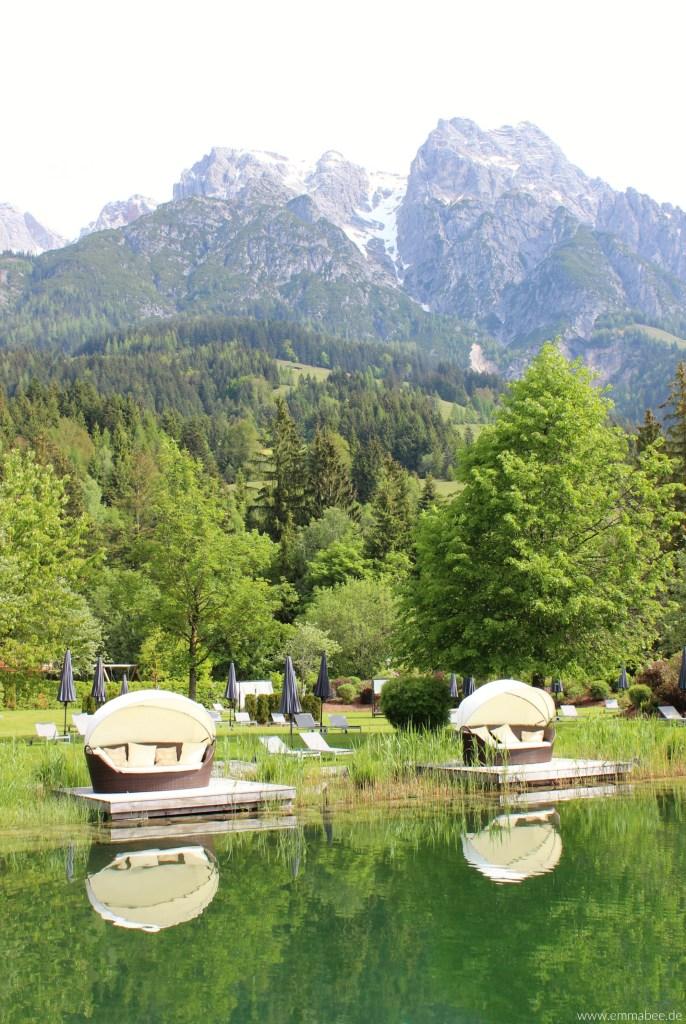 {Unterwegs} Das Beste aus zwei Welten: Naturhotel Forsthofgut
