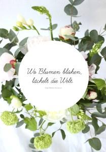 EmmaBee DIY Frühlingsblumen