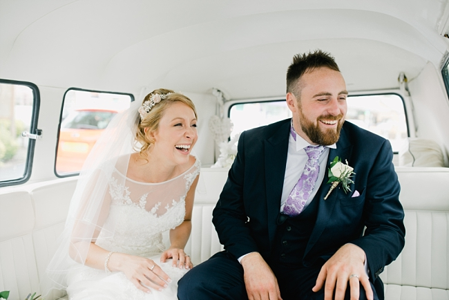 A Lancashire wedding with a VW camper