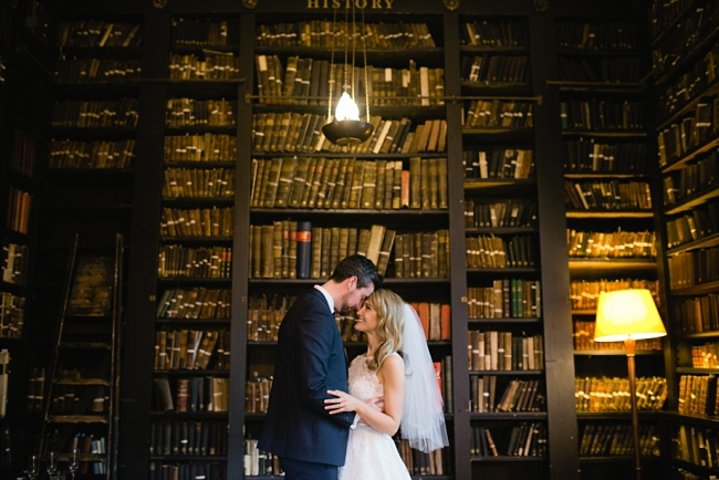 portico library wedding manchester