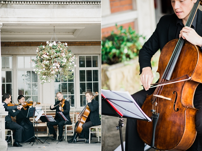 string quartet at eaves hall