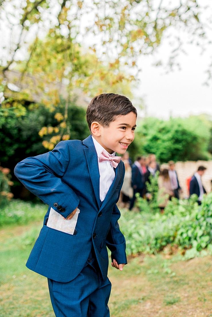 page boy bow tie
