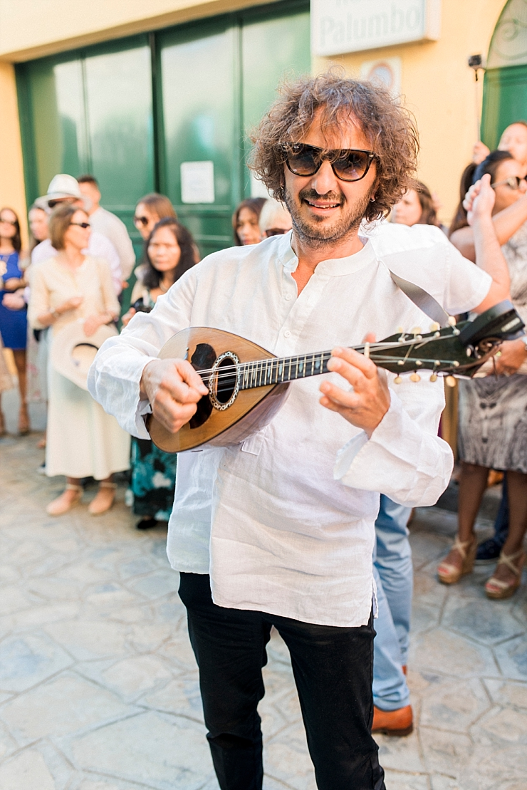 wedding musician in ravello