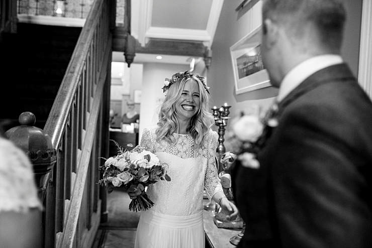 first look at didsbury house wedding