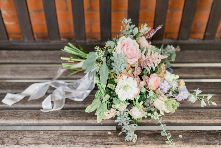 bouquet by the Petal and Twig