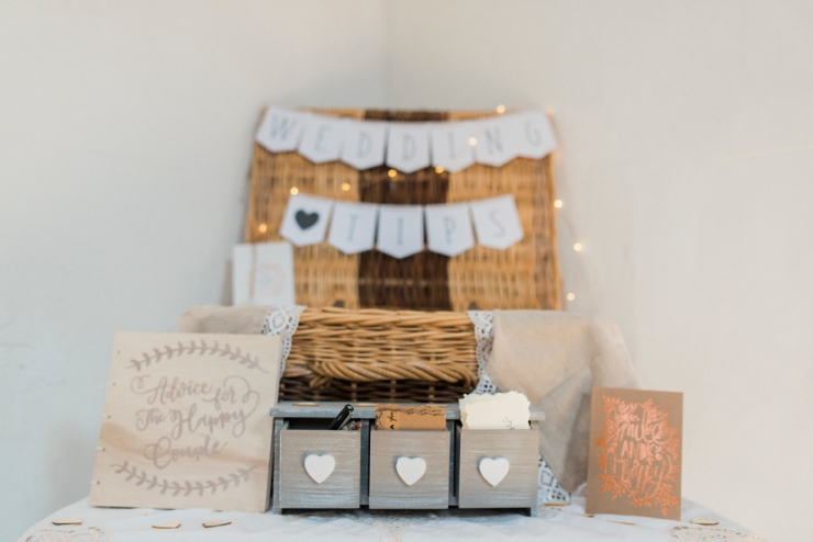 wedding cards basket