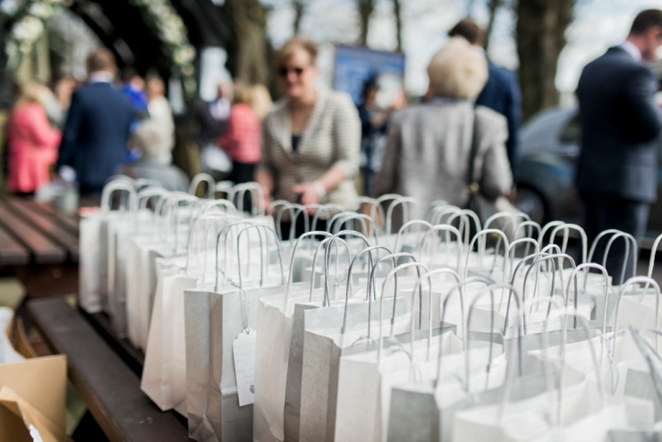 goody bags for wedding guests