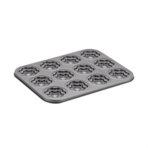 Cake Boss 12 Cup Moulded Cookie Pan: Groovy Girl/Flower