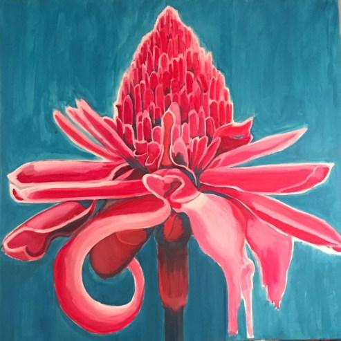Joie, acrylique sur toile
