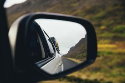 Ultimate checklist: how to overcome stress and anxiety. Rear-view mirror.