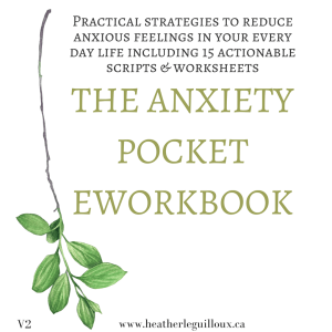 Products I love: The Anxiety Pocket eWorkbook