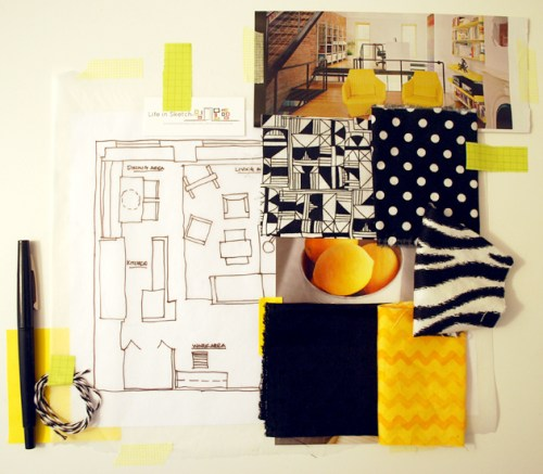 MOODBOARD BY TINA RAMCHANDANI on LIFEINSKETCH.COM