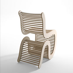 Spline chair