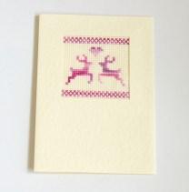 PinkReindeerCard