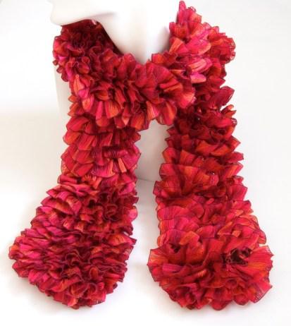 RedOrangeRibbonScarf1