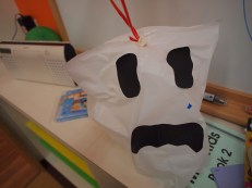 Side #1 of my ghost. He had more tears but they went away...