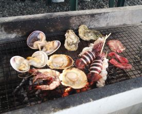 This is what a barbecue looks like in Japan