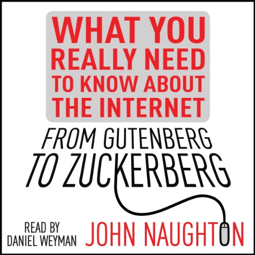 The cover of From Gutenberg to Zuckerberg