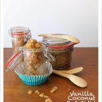 4-ingredient Vanilla Coconut Body Polish