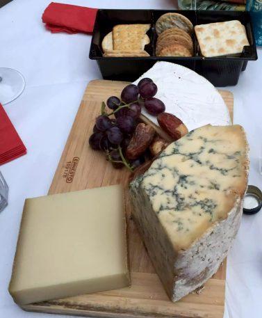 Birthday BBQ London Sunshine Argentinean cheese