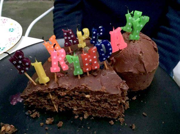 Birthday BBQ London Sunshine Argentinean Cake Candles