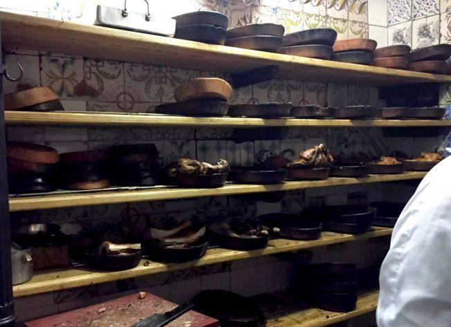 Restaurante Botin Guinness Book of records Madrid Birthday Kitchen Specials Suckling piglet Lamb Oldest