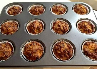 Carrot Cake Muffins SCD Paleo Almond Coconut Oil Honey Baking Specific Carbohydrate Diet Gluten-Free Grain Free Clean Eating Birthday