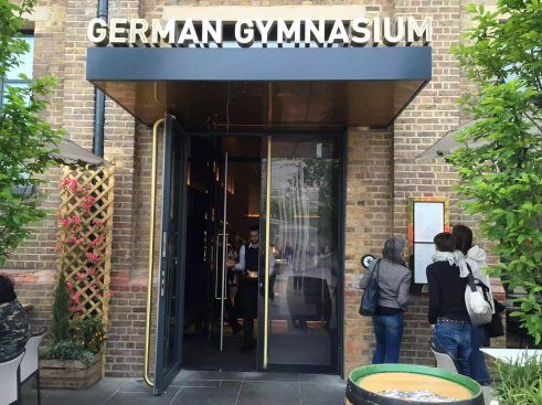 German Gymnasium D&D Kings Cross London Birthday Dinner Restaurant