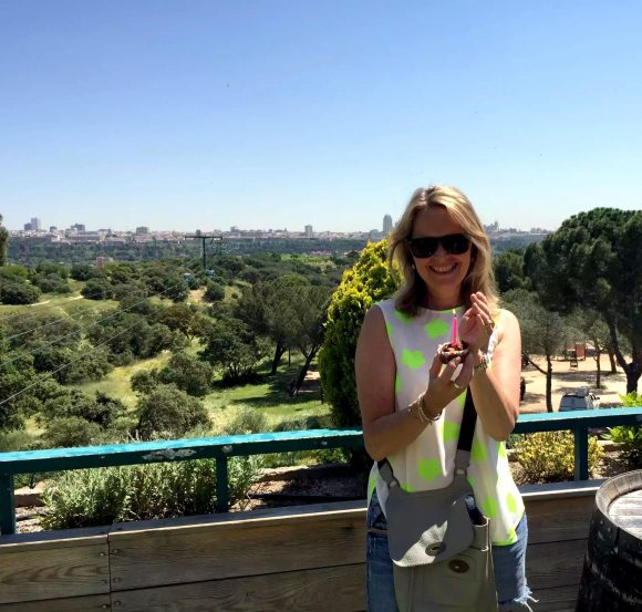 Madrid Sunshine Casa do Campo Walking Park Birthday SCD Carrot Cake Muffin
