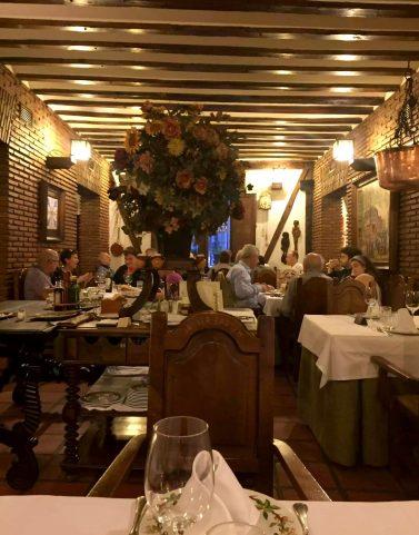 Posada de la Villa Madrid Dinner Restaurant Cava Baja