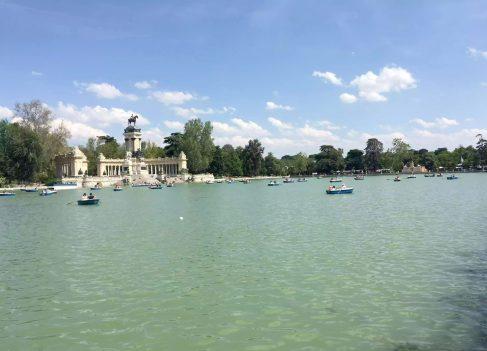 Palacio de Cristal Madrid Retiro Park Walk Sunshine Boating Lake Fountains