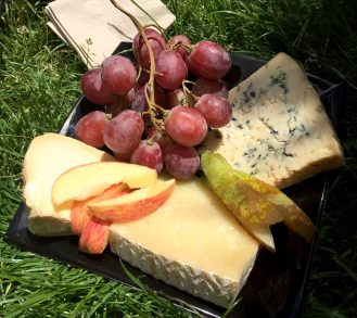 Madrid Sunshine Retiro Park Muga Red Wine Picnic Fruit Cheese Jamon Meat Chorizo