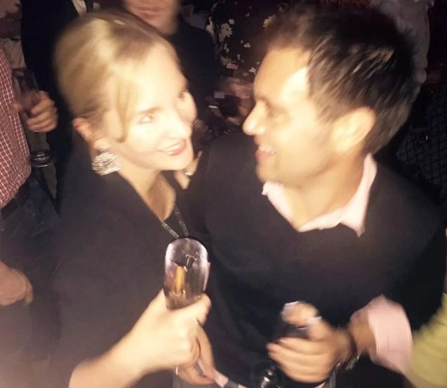 Archer St Soho London Birthday Table Dancing Bar Prosecco Friends
