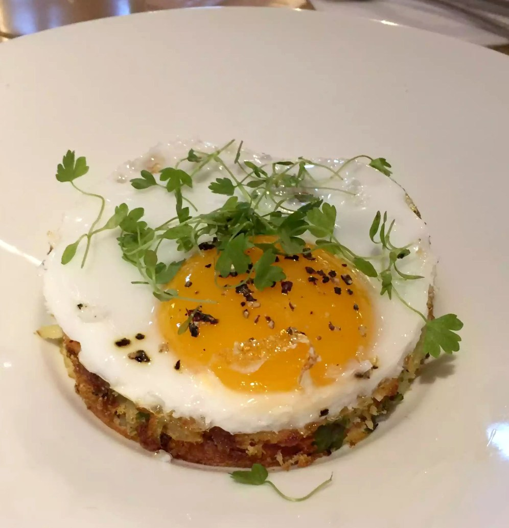 Great Northern Pub St Albans Summer Menu Bubble and Squeak Duck Egg